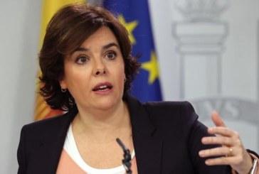 S.Santamaría advierte a Torrent de que no puede desobedecer al Constitucional