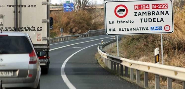 Fomento y el Gobierno de Navarra analizan la situación de la AP-68 en Tudela