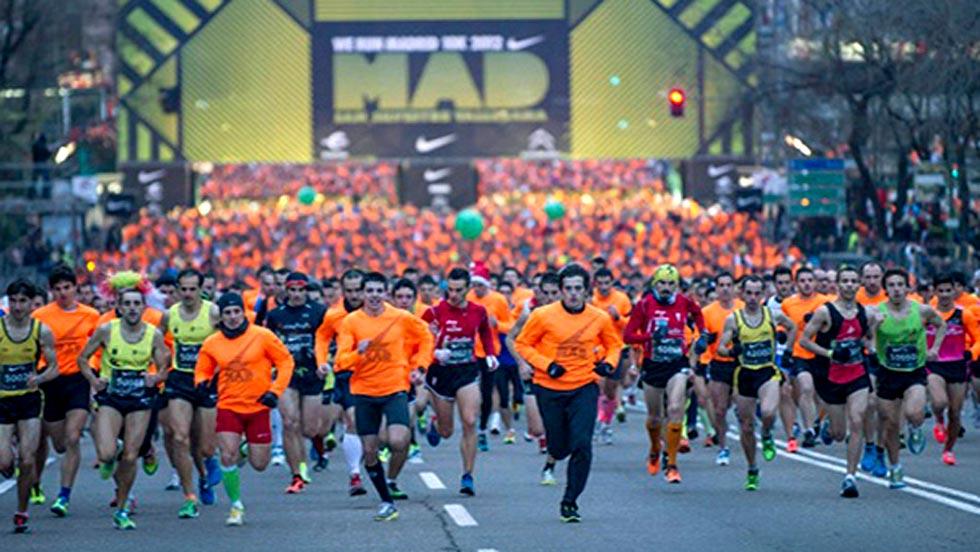 Más de 40.000 corredores disputarán la San Silvestre vallecana