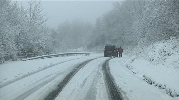 El Gobierno de Navarra agradece a Alsasua la «solidaridad» con las personas atrapadas por la nevada en Echegárate