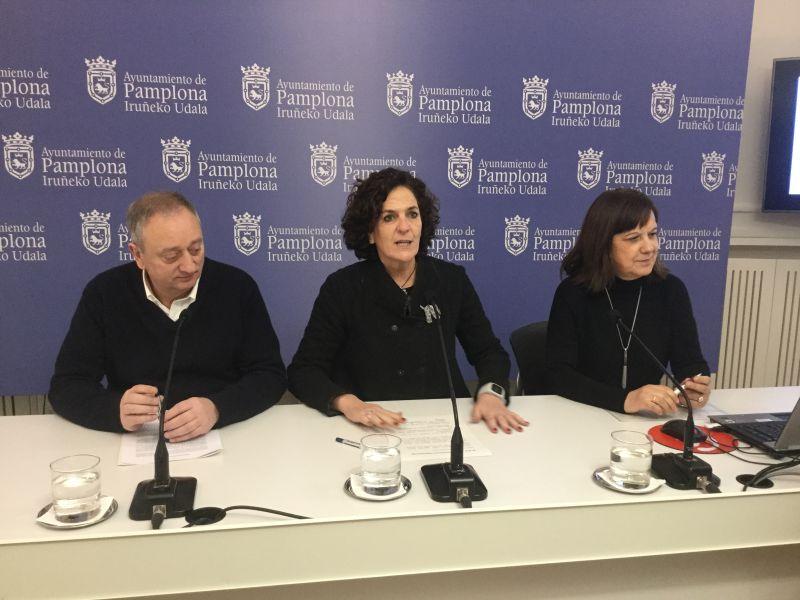 Geroa Bai Pamplona presenta sus proyectos para 2018
