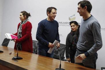 La Mesa del Parlamento verá el lunes los cambios en el grupo de Podemos
