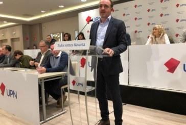 UPN quiere sumar a Ciudadanos a su pacto electoral con el PP
