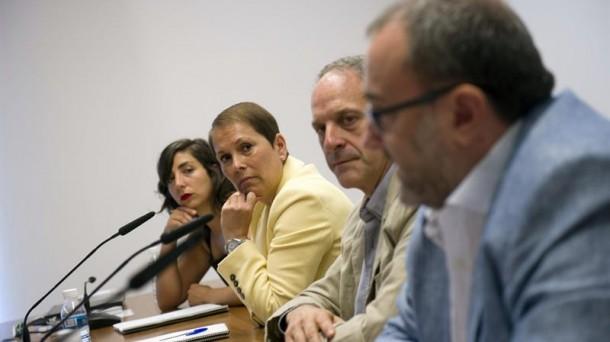 El cuatripartito dice que el TC «se enfrenta» a Navarra y «desampara» a víctimas