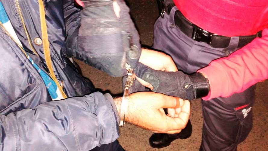 Detenidos dos vecinos de Cascante por resistencia y lesiones