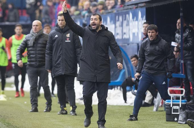 """Diego Martínez: """"Esta victoria es para toda la gente que ha trabajado desde las siete de la mañana para quitar la nieve"""""""