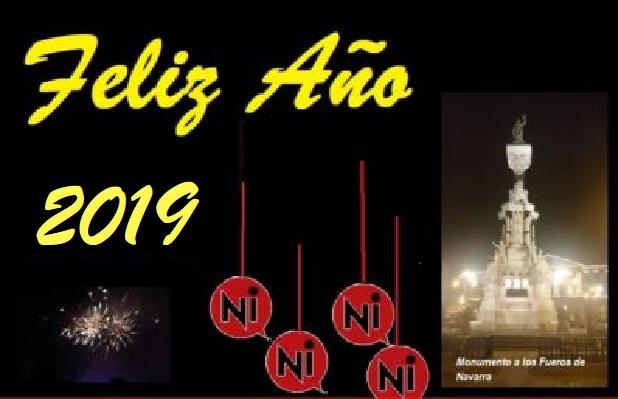 Hoy es fiesta: El equipo de Navarrainformacion.es desea FELIZ AÑO 2019