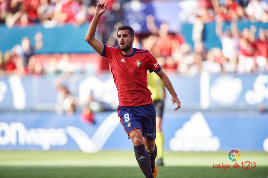 Fran Mérida, seria duda para el primer partido en El Sadar ante el Elche