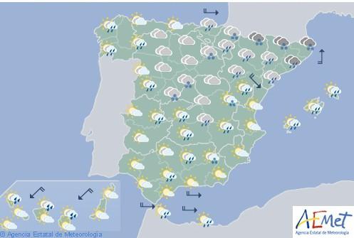Hoy en España, nevadas en Sistemas Central e Ibérico y Pirineos