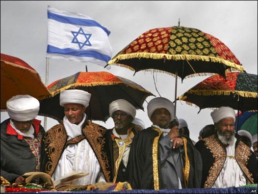 Miles de judios etíopes llegan a Israel