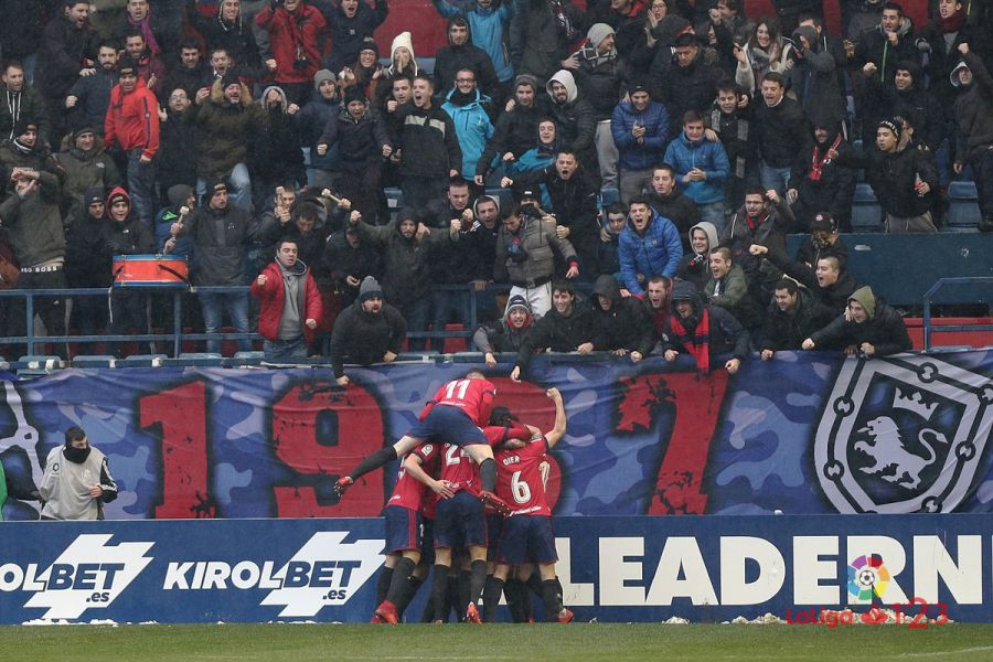 4-2. Osasuna comienza el año con victoria tras remontar ante el Valladolid