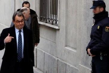 Artur Mas llega al Supremo a declarar como investigado en el caso del procés