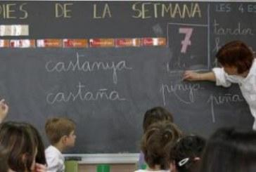 El castellano en las aulas catalanas, asignatura pendiente de Educación