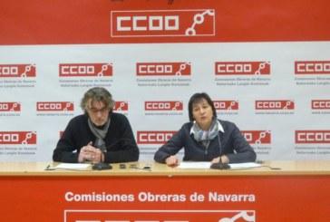 CCOO alerta de que en 2017 los accidentes laborales suben un 6% en Navarra