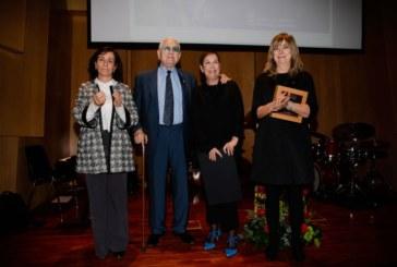 """La Presidenta Barkos entrega el premio """"San Francisco de Javier"""" 2017 al saxofonista y compositor Pedro Iturralde Ochoa"""