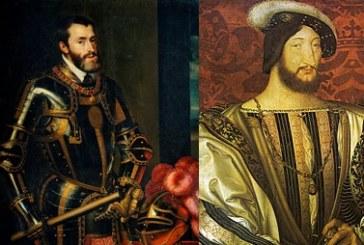 España derrota a Francia  en la Batalla de Pavía