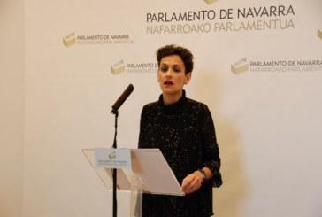 Chivite (PSN) pide la gratuidad de AP 15 en Navarra y critica a UPN-PP por pedirlo ahora