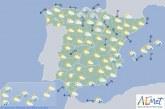 Hoy en España, temperaturas muy bajas en Cantabria, Pirineos y Sistema Central