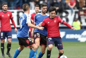 Osasuna afronta la Copa fortalecido tras su primera victoria de la temporada