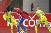 2-0. Osasuna no da la talla ante el Sporting y se aleja de la promoción