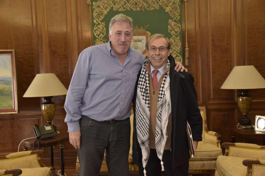 Recibido el presidente de la Asociación Comunidad Hispano Palestina de Jerusalén
