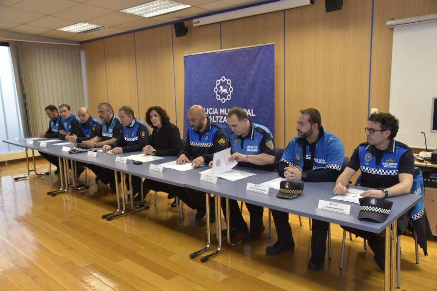 Convenio entre los policias municipales de los Ayuntamientos de Ansoáin, Barañáin, Berriozar, Burlada, Valle de Egüés, Noáin (V. Elorz), Villava y Cizur Mayor