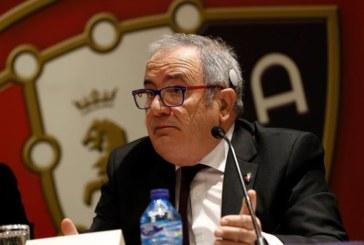 Sabalza dice que la directiva ha ganado «crédito» por su gestión económica