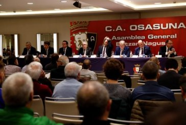 La deuda neta de Osasuna baja a 5,4 millones de euros
