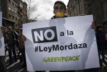 Pamplona se suma a las movilizaciones a favor de la derogación de la Ley Mordaza