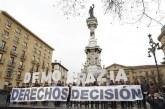 Concentración contra las sentencias del TC y en defensa autogobierno de Navarra