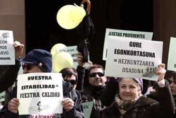 La Plataforma de Interinos mantiene su desacuerdo con Educación de Navarra