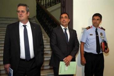 Trapero y sus jefes políticos procesados por sedición y organización criminal