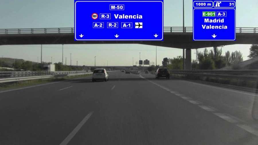 La Guardia Civil identifica al conductor del vehículo que fue grabado mientras conducía a 300 km/h de forma temeraria por la autovía M-50