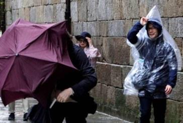 Gisele pone en alerta a más de media España por lluvia, olas y fuerte viento