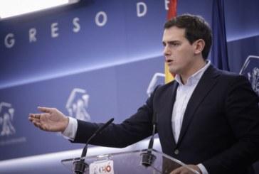 Rivera pide a la UE que actúe con celeridad tras la «rectificación» de Sánchez