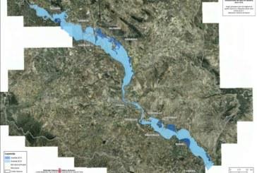 Un total de 10.016 hectáreas inundadas y 69 localidades afectadas, primera valoración de las inundaciones en Navarra