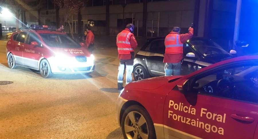 Policía Foral intensificará su actividad de seguridad ciudadana en Nochevieja