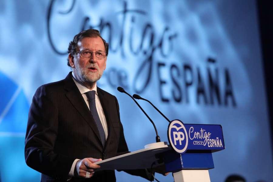 """Rajoy dice que cumplió con su """"obligación"""" en Cataluña y que el resto está en manos de la Justicia"""