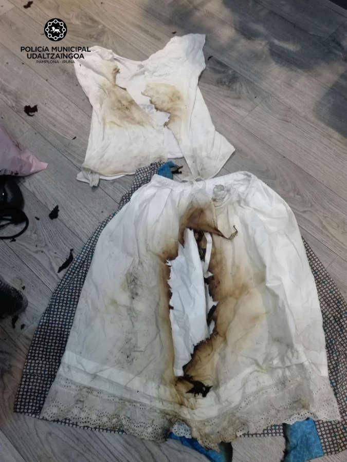 Una niña sufre quemaduras al incendiarse su vestido con una estufa
