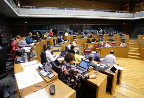 El cuatripartito aprueba la proposición de Ley Foral contra la violencia de extrema derecha y policial
