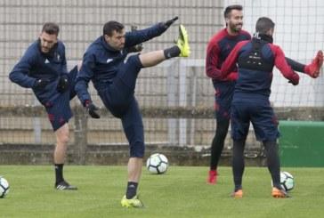 Javier Flaño, «contento» por volver a jugar pero expectante con su futuro