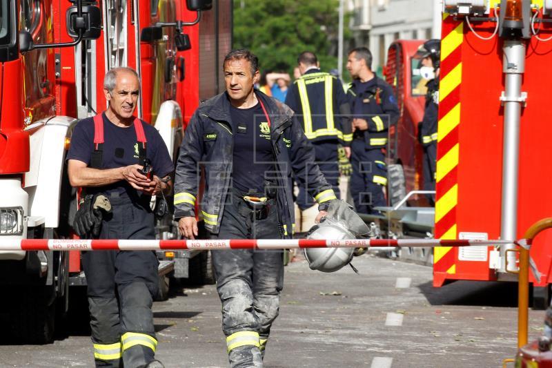 Hallado muerto uno de los dos desaparecidos en el derrumbe de Madrid