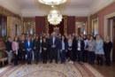 Recibidos los estudiantes que participan en la Escuela de Negocios de Navarra