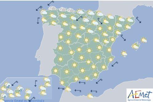 Hoy en España, posibles chubascos y tormentas en Cataluña Huesca y Teruel