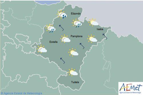 El tiempo hoy para Navarra