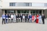 Graduados 14 estudiantes de Ingeniería en Diseño Mecánico del campus de Tudela de la UPNA