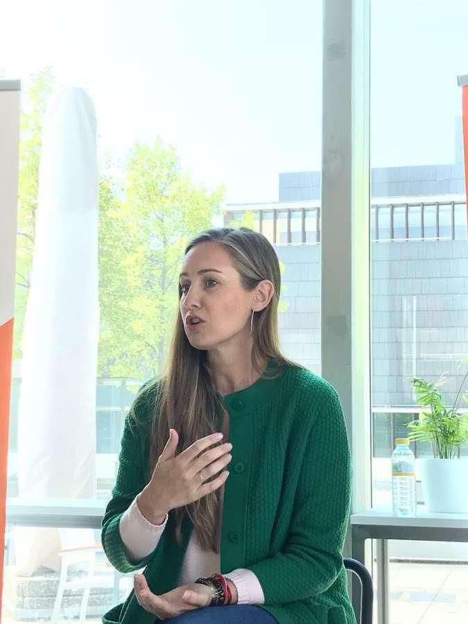 Melisa Rodríguez (Cs): «Navarra tiene que retener el talento y volver a ser un destino atractivo para la juventud»