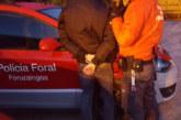 La Policía Foral detiene a tres personas por requisitorias judiciales