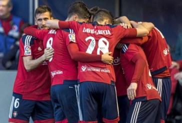 Osasuna mantiene la mejor racha de imbatibilidad entre los equipos de Primera