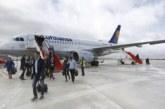 Lufthansa muestra su interés en mantener la línea Pamplona-Fránkfort
